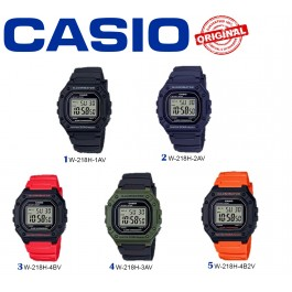 Casio Digital W-218H-1AVDF