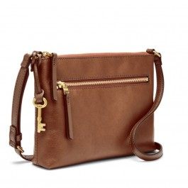Fossil Fiona EW Crossbody Brown ZB7668200