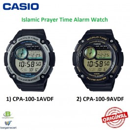 Casio CPA-100 Original Watch Prayer times and alarms
