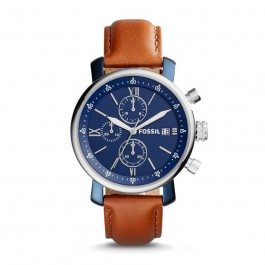 Fossil BQ2163 Brown/Blue Chronograph Watch
