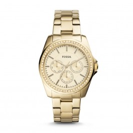 FOSSIL BQ3317 Janice Multifuction Gold -Tone Stainless Steel Watch