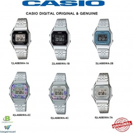 Casio LA680WA Series Original & Genuine Watch