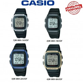 Casio W-96H Series Original & Genuine Watch