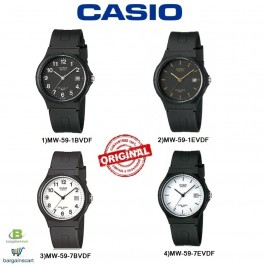 Casio MW-59 Series Original & Genuine Watch