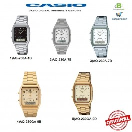 Casio Original & Genuine Watch AQ-230A / AQ-230GA Series