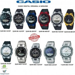 Casio AW-80/AW-80D Series Genuine Watch
