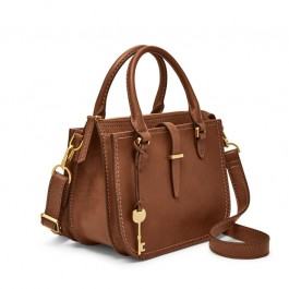 Fossil Ryder Mini Satchel Brown ZB7587200