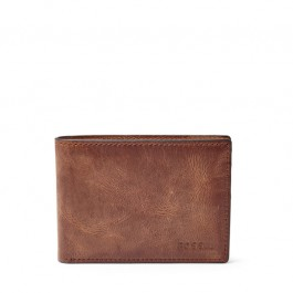 Fossil Derrick Front Pocket Bifold Brown ML3709200