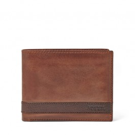 Fossil Quinn L-Zip Bifold Brown ML3652200