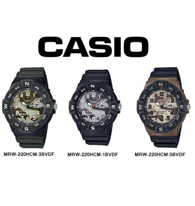 ae96baee4e9 Casio Original   Genuine Men s Watch MRW-220HCM   MRW-220HCM-1B    MRW-220HCM-3B   MRW-220HCM-5B