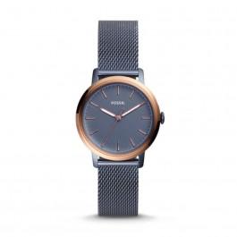 Fossil ES4312 Neely Three-Hand Steel Blue Stainless Steel Watch