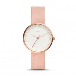 Fossil ES4426 Essentialist Three-Hand Blush Leather Watch