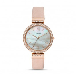 Fossil ES4537 Madeline Three-Hand Blush Leather Watch