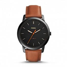 Fossil FS5305 The Minimalist Slim Three-Hand Light Brown Leather Watch