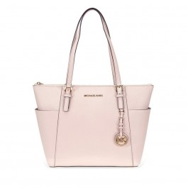 Michael Kors Jet Set Saffiano Leather Tote -Soft Pink 30F2GTTT8L-187