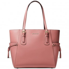 Michael Kors Voyager Textured Leather Tote - Oat 30F8TV6T4L-622