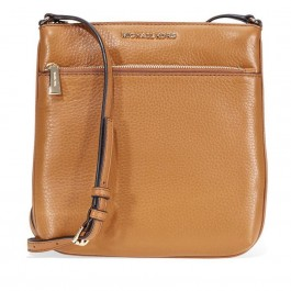 Michael Kors Riley Small Pebbled Leather Messenger Bag- Acron 32S5GRLC1L-203