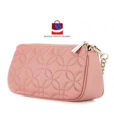 Michael Kors Medium Chain Leather Handbag - Soft Pink 32H8GF9C6T-187