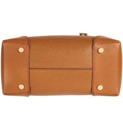 Michael Kors Mercer Medium Leather Satchel - Acorn 30H7GZ5T6A-203