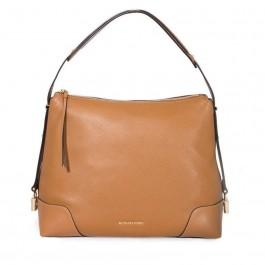Michael Kors Crosby Large Pebbled Leather Shoulder Bag - Acorn 30H8GCBL3L-203