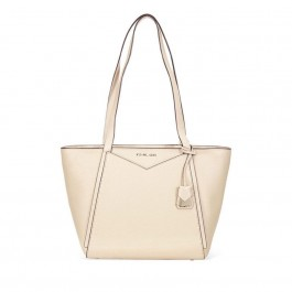 Michael Kors Whitney Small Leather Tote- Oat 30T8TN1T1L-160