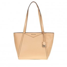 Michael Kors Whitney Small Leather Tote- Butternut 30T8TN1T1L-106