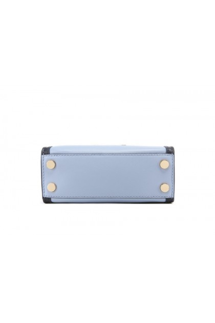 Michael Kors Whitney Medium Messenger Bag - Pale Blue/Admiral 30T8GXIM1T-409