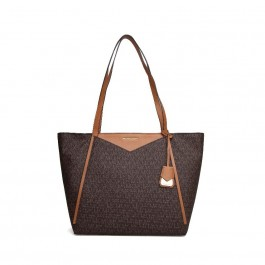 Michael Kors Whitney Large Logo Tote Bag - Brown 30S8GN1T3B-200