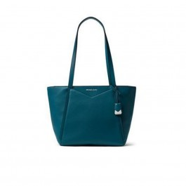 Michael Kors Whitney Small Leather Tote - Teal 30S8SN1T1L-402