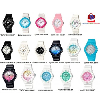 Casio  LRW-200H-2E3 / LRW-200H-2E3V/ LRW-200H-2E / LRW-200H Original & Genuine Watch
