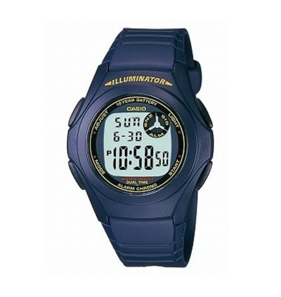 Casio Standard F-200W-2B Kids Digital Watch Classic Simple Young Design