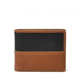 Fossil Tate RFID Large Coin Pocket Bifold Wallet ML3846222
