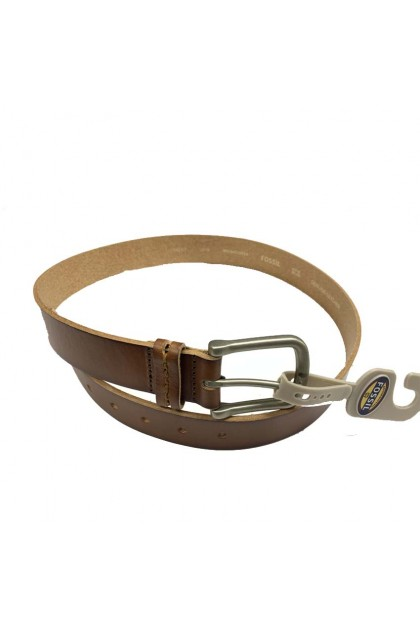 Fossil Harvey Belt Clothing Accessories Brown MB1042200