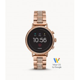 Fossil FTW6011 Gen 4 Smartwatch Venture HR Rose-Gold-Tone Stainless Steel