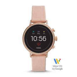 Fossil FTW6015 Gen 4 Smartwatch - Venture HR Blush Leather