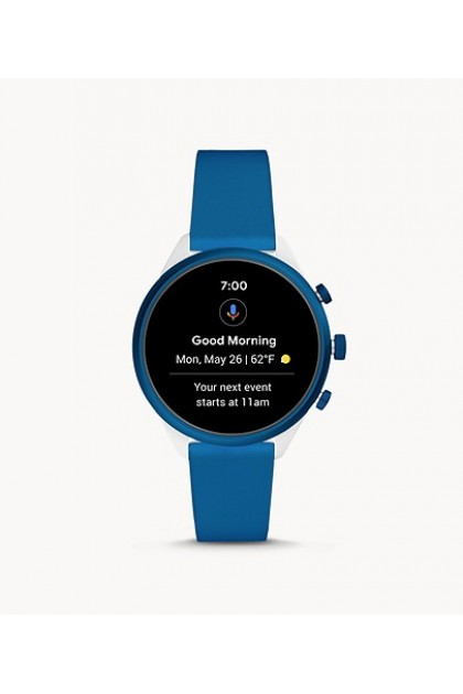 Fossil FTW6051 Fossil Sport Smartwatch 41mm Blue Silicone