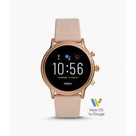 Fossil FTW6054 Gen 5 Smartwatch Julianna HR Blush Leather