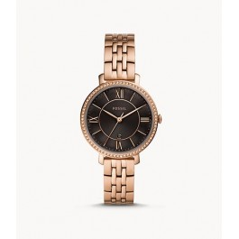 Fossil ES4723 Jacqueline Three-Hand Rose Gold-Tone Stainless Steel Watch