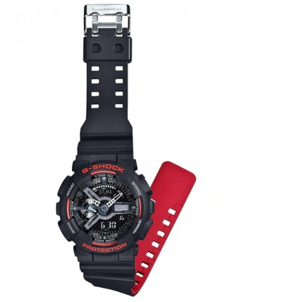 Casio G-Shock GA-110HR-1A Original & Genuine Men's Watch GA-110 / GA-110HR / GA-110HR-1 / GA-110HR-1ADR / 110