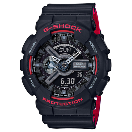 Casio G-Shock GA-110HR-1A Original & Genuine Men's Watch GA-110 / GA-110HR / GA-110HR-1 / GA-110HR-1ADR / 110