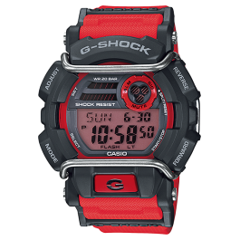 Casio G-Shock Digital GD-400-4D Original Watch Red GD-400 / GD-400-4 / GD-400-4DR / 400