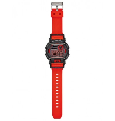 Casio G-Shock Digital GD-400-4D Original Watch Red GD-400 / GD-400-4 / GD-400-4DR / 400