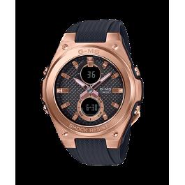 Casio G-Shock MSG-C100G-1ADR Women's Watch Black/Gold MSG-C100G / MSG-C100G-1 / MSG-C100G-1A / 100