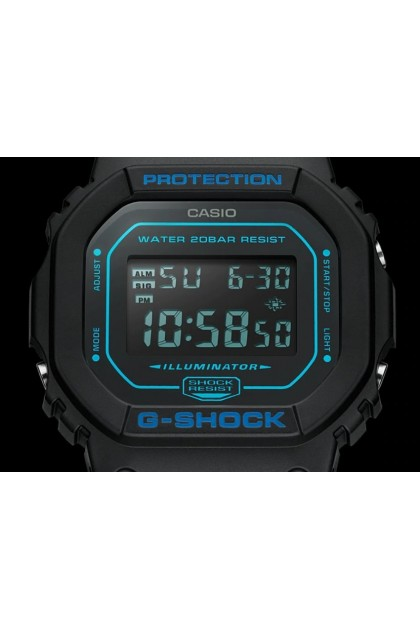Casio G-Shock Digital DW-5600BBM-1DR Men's Watch Black DW-5600 / DW-5600BBM / DW-5600BBM-1 / DW-5600BBM-1D