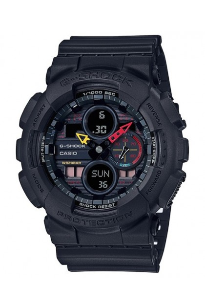 Casio G-Shock GA-140BMC-1ADR Original Man's Watch GA-140BMC-1A / GA-140BMC-1 / GA140BMC