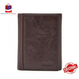 Fossil Men's Neel Trifold Wallet Brown ML3869200