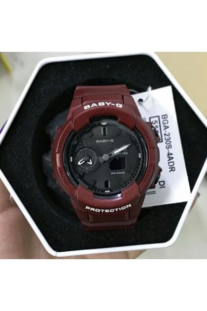 Casio Baby-G BGA-230S-4ADR Standard Analog Digital Watch BGA-230S-4AD / BGA-230S-4A / BGA-230S