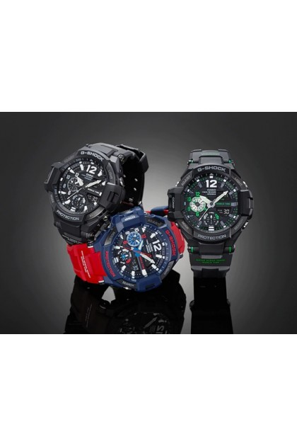 Casio G-Shock GA-1100-2ADR Optimus Prime Gravity master Men Digital Analog Watch GA-1100-2AD / GA-1100-2A / GA-1100-2 / GA1100