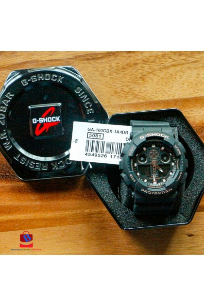 Casio G-Shock GA-100GBX-1A4DR Special Color Models Watch GA-100GBX-1A4D / GA-100GBX-1A4 / GA-100GBX-1A / GA-100GBX-1 / GA100GBX