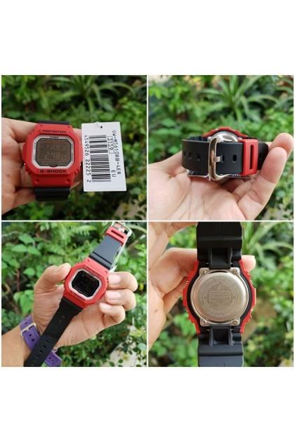 (EURO SET) Casio G-Shock GW-M5610RB-4ER Origin Series Deadpool Men's Digital Watch GW-M5610RB-4E / GW-M5610RB-4 / GW-M5610RB